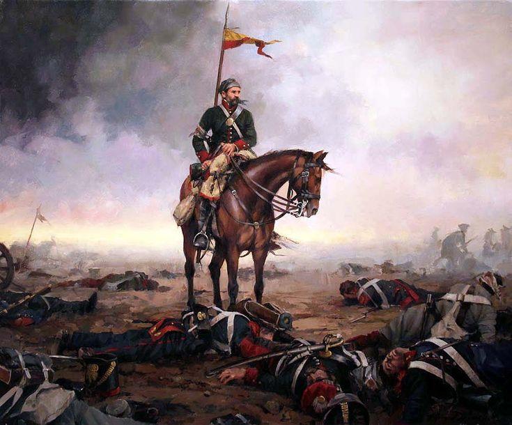 El final de la batalla. Artista Augusto Ferrer Dalmau. http://www.elgrancapitan.org/foro/viewtopic.php?f=21&t=11680&p=917316#p917312