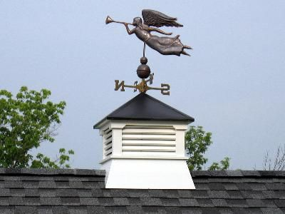1000 images about cupola styles an plans on pinterest for Cupola with weathervane