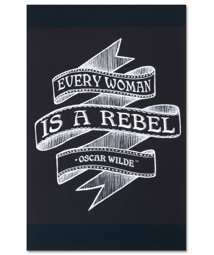 Every Woman Is a Rebel Poster -