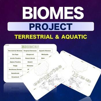 Science - Biomes Project - NO PREP