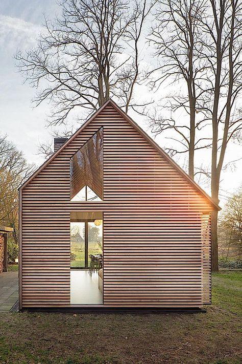 Arquitetura: Uma casa de férias inteligente na Holanda | KlonBlog   – Moderne häuser