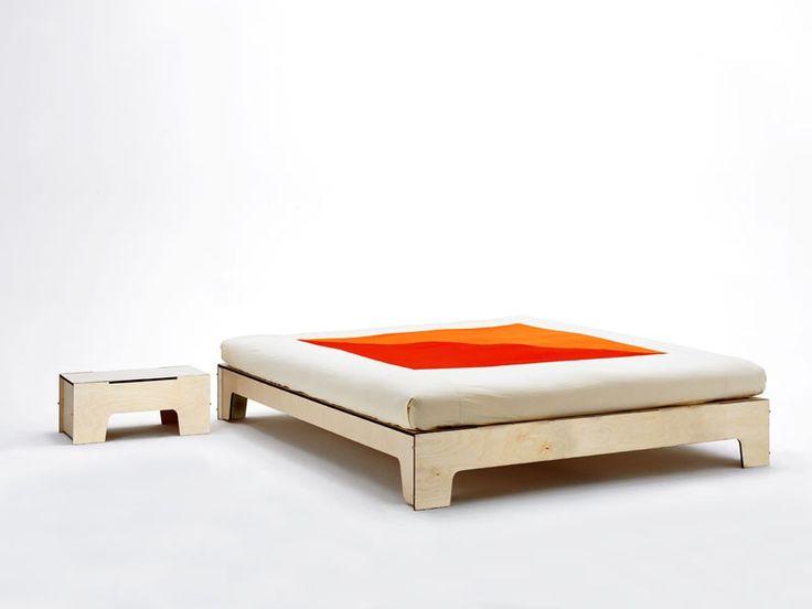 17 migliori idee su testiera letto contenitore su - Spalliera del letto ...