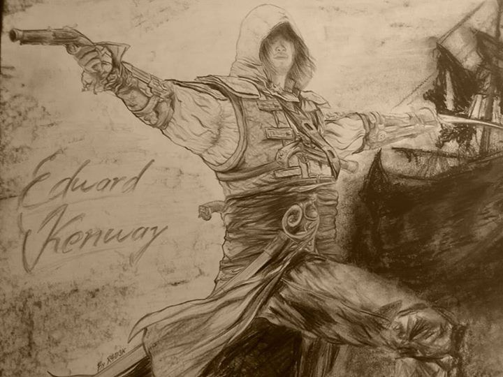 For AC fans ... art for a sell ... cost make it deal ... no problem ... please write me a message or call me on my phone number +421 904 037 143 #assassinscreed #assassins  #assassin #ac #assassinscreeed2 #assassinscreedbrotherhood #assassinscreedrevelations #assassinscreed3 #assassinscreedblackflag #assassinscreedrogue #assassinscreedunity #assassinscreedsyndicate #altairibnlaahad #ezioauditore #connorkenway #edwardkenway #arnodorian #jacobfrye #eviefrye #GeekVerse