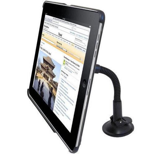 In Car Windshield Dashboard Mount For Apple iPad 3G/WIFI Tablet Reader 360° Rotating Dock/Holder, Suction Cup Stand - Perfect Fit For Travel Or Home Use