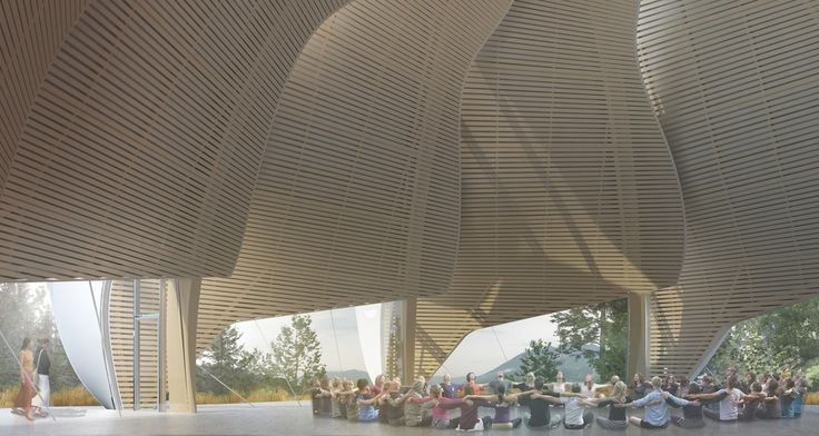 After being destroyed in a fire, Canadian-firm Patkau Architects rebuilds the Temple of Light | Features | Archinect