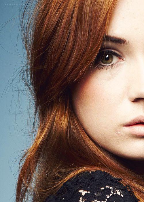 Karan Gillian (Amelia Pond) from Doctor Who.