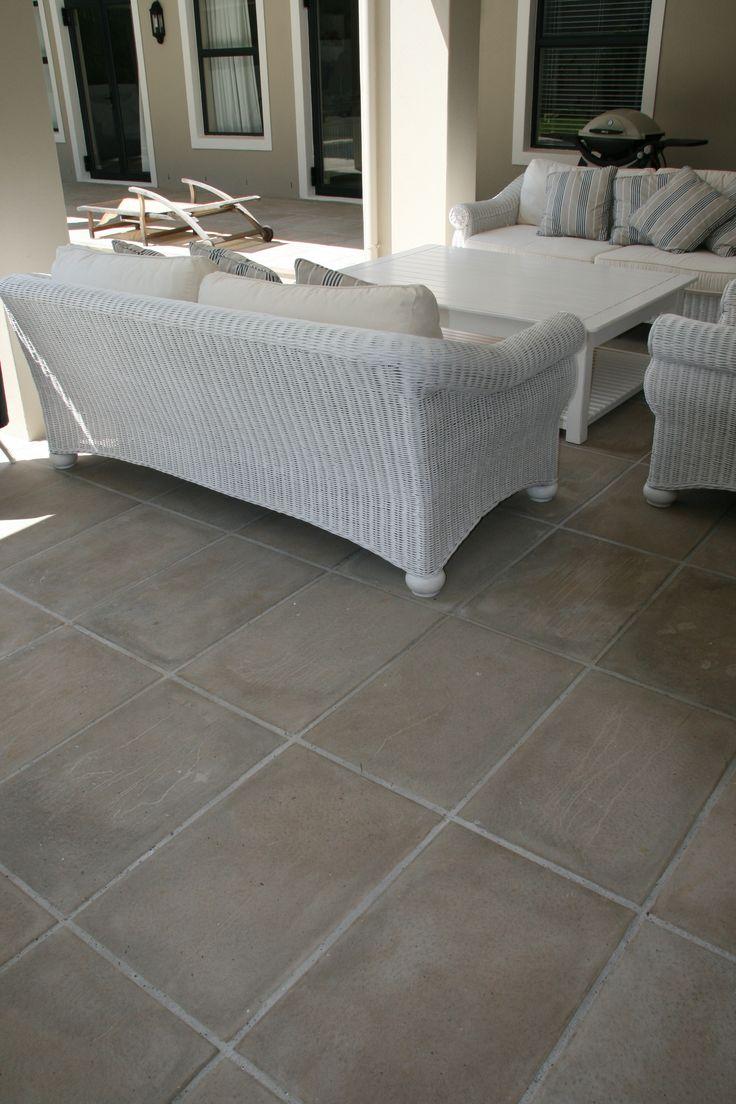 Elegant Jura straight edge pavers 680x440x45. Ideal for any patio area.
