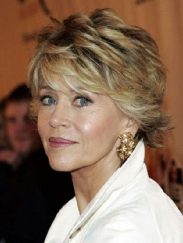 Short Hairstyles For Older Women Over 60