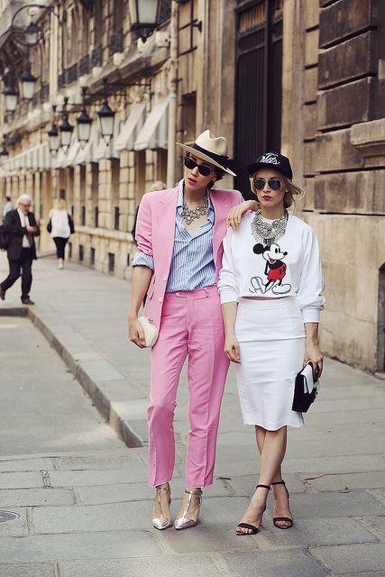 paris fashion week street style by diana.enciu