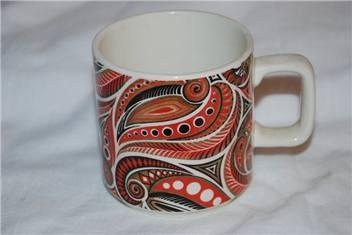 Retro Crown Lynn Mug / Cup - got this one too! :)