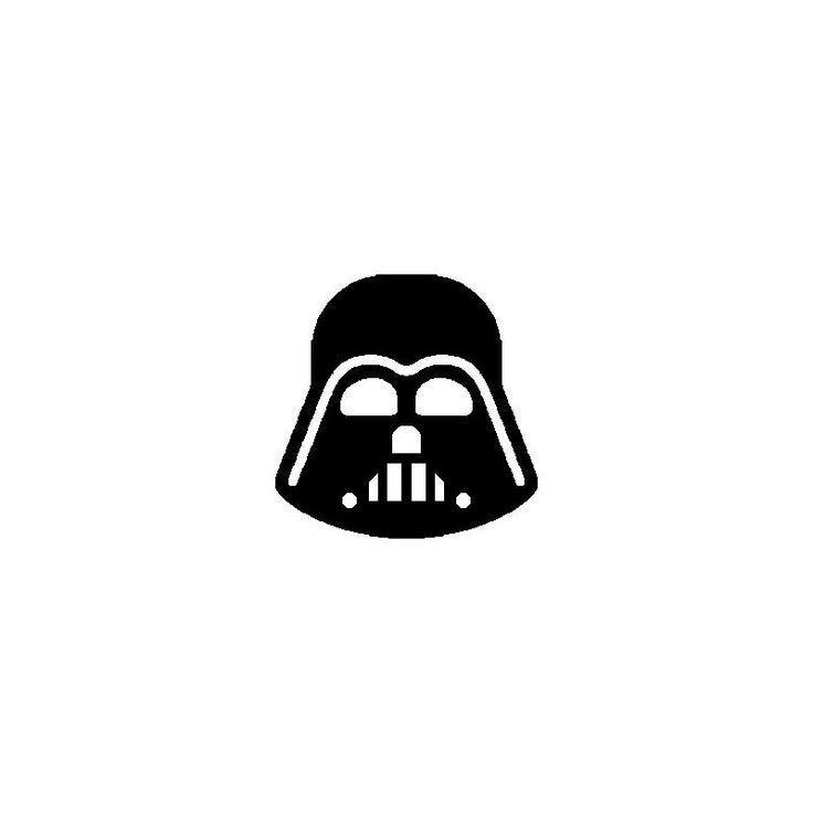 Patron pour réaliser un livre plié Star Wars masque Dark Vador