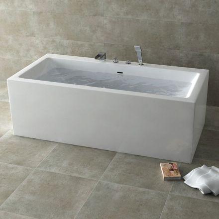 les 25 meilleures id es de la cat gorie baignoire rectangulaire sur pinterest douche. Black Bedroom Furniture Sets. Home Design Ideas
