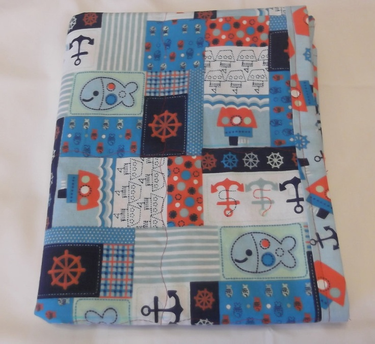Nautical Blanket Baby Nautical Baby Bedding by TakeTwoBabyQuilts, $25.00