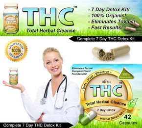 7 Day Marijuana Detox Flush Cleanse – Perfect for the heavy and light marijuana user. This 7 day program will eliminate & flush marijuana / THC drug metabolites from your urine, blood and saliva. This is not a mask and it is completely undetectable! 100% Satisfaction Guaranteed. Comes with 7 day supply of Marijuana Detox Capsules. Up to 320 lbs body weight. This product is not intended to cheat on a marijuana drug test.  www.magicdetox.com