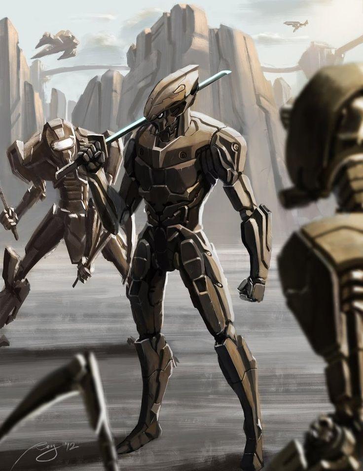 Ninja Robots by taroroy.deviantart.com on @DeviantArt