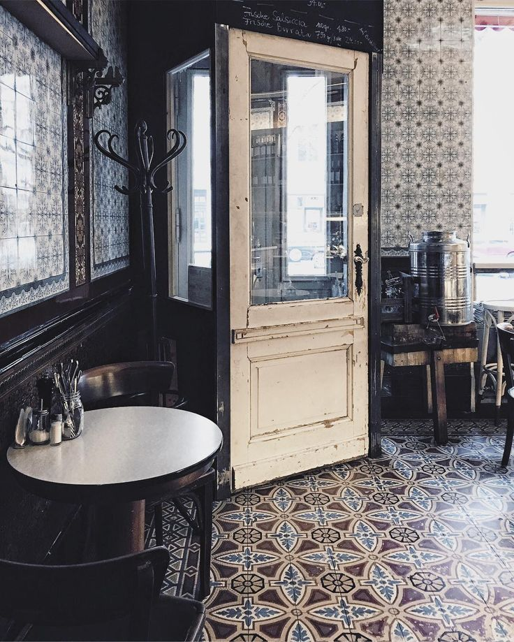 """""""#Berlintiles overdose at @salumerialamuri – which used to be a butcher's shop, many decades ago. #Berlin"""""""