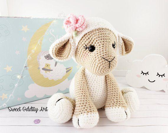Häkelschaf Teil 2/2 * Tutorial * Crochet Sheep [eng sub] - YouTube   451x570
