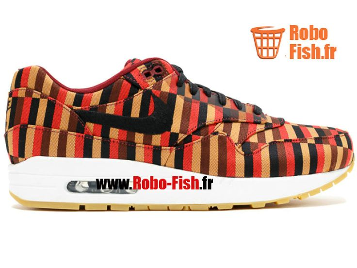 """Nike Air Max 1 Woven Sp """"Jacquard"""" - Chaussure Nike Running Pas Cher Pour Homme 651321-106"""