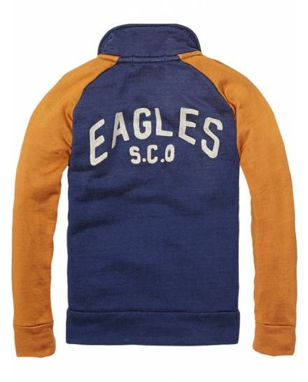 Track Jacket > Kids Clothing > Boys > Sweaters at Scotch Shrunk - Official Scotch & Soda Online Fashion & Apparel Shops