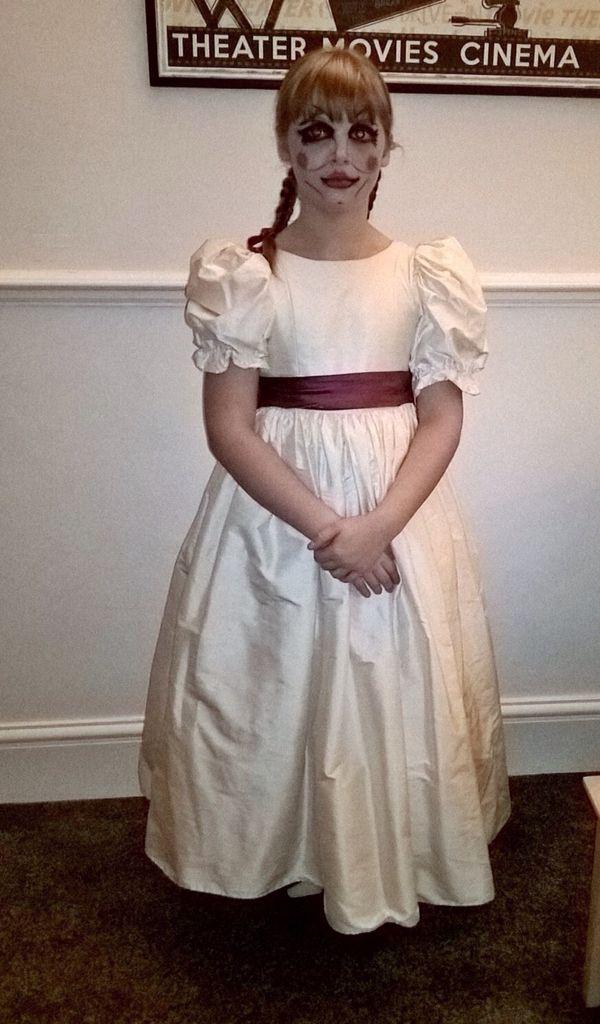 Annabelle doll costume