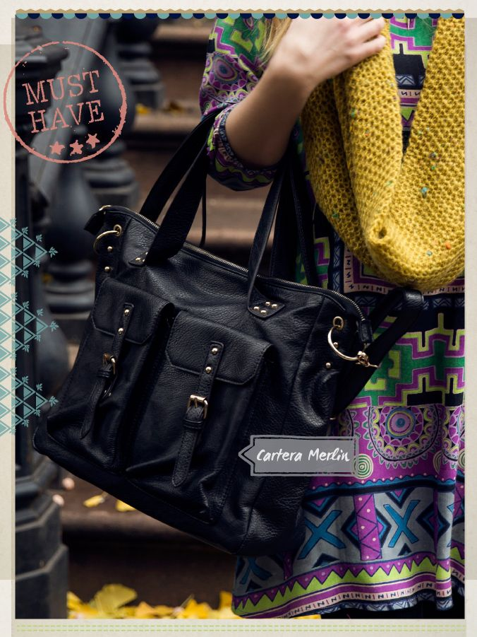 Cartera Merlin #musthave #indiastyle
