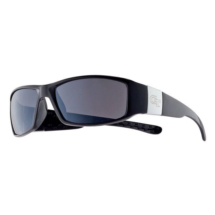 Adult Georgia Tech Yellow Jackets Chrome Wrap Sunglasses, Men's, Multicolor