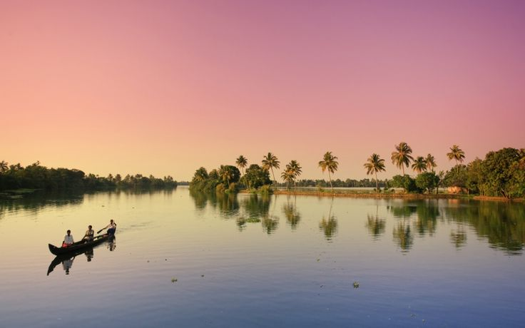#Alleppey #Backwaters