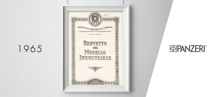 Depositato il primo brevetto di un saliscendi per apparecchi di illuminazione.  Scopri come prosegue la nostra storia > http://po.st/PanzeriHistory  The first patent  Registration of the first patent for a latch for lighting fixtures.  Discover how our history goes on > http://po.st/PanzeriHistory