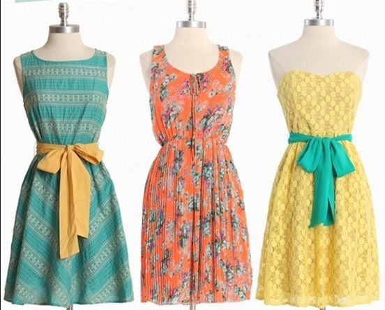 Springs finally here, these  dresses make me feel like I want to wear them at a…