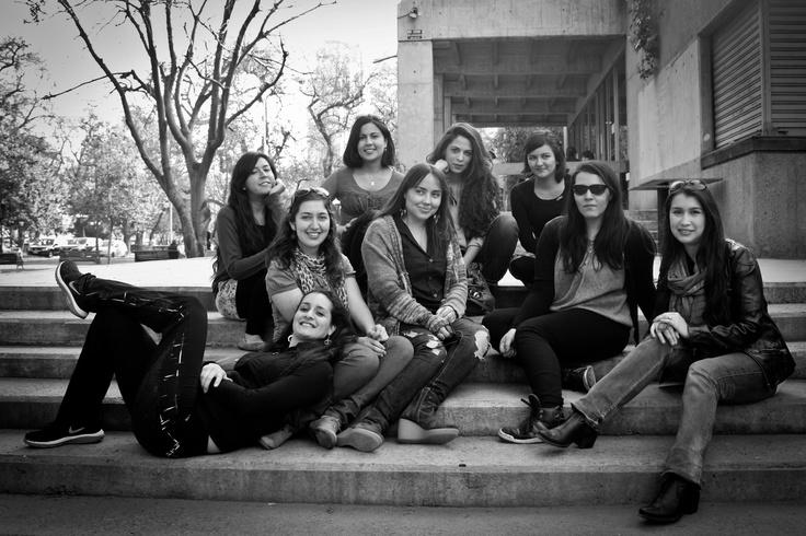 Parte de nuestro staff en Santiago de Chile.  Septiembre 2012