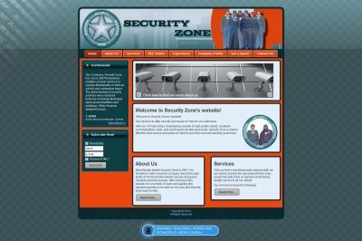 Alton Mavata, owner of Security Zone SA, commissioned Vertex Central to create a web presence for his business. Using testimonials to demonstrate his credibility, and a simple, functional design, Vertex Central was able to create a website that was visually appealing, functional, and surpassed the requirements for Security Zone SA. #CMS #Joomla #webdesign #security #blue