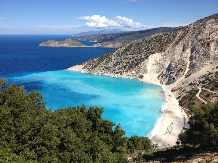 Myrthos Beach, Kefalonia, Greece