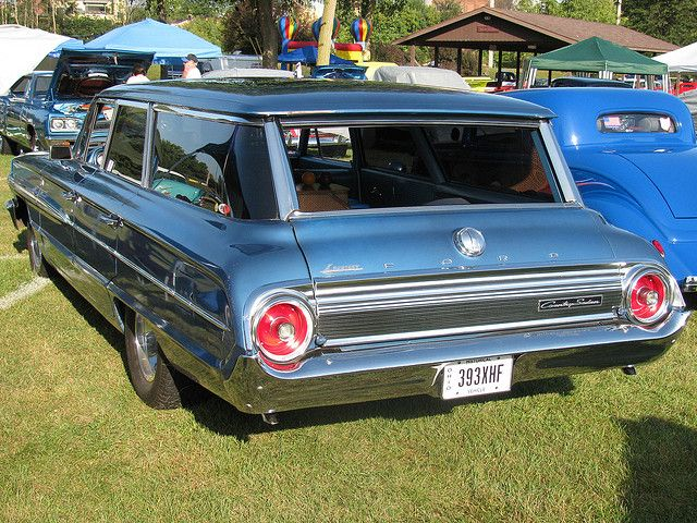 1964 Ford Galaxie Country Sedan Station Wagon. Bought a used Ford wagon like this in New York and drove to Nebraska while in Military. A great car.