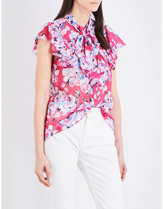 Claudie Pierlot Cachemire chiffon shirt