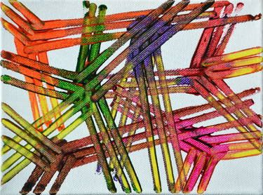 "Saatchi Art Artist Para Skevi; Painting, ""Gordian Knot (SOLD)"" #art"