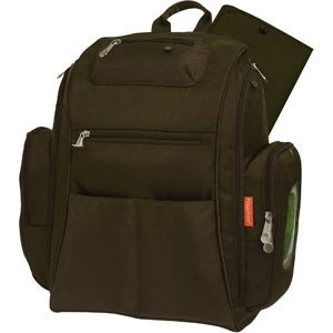Fisher Price Dad's Diaper Bag Backpack,Brown! This is very handy and dad will love it too!