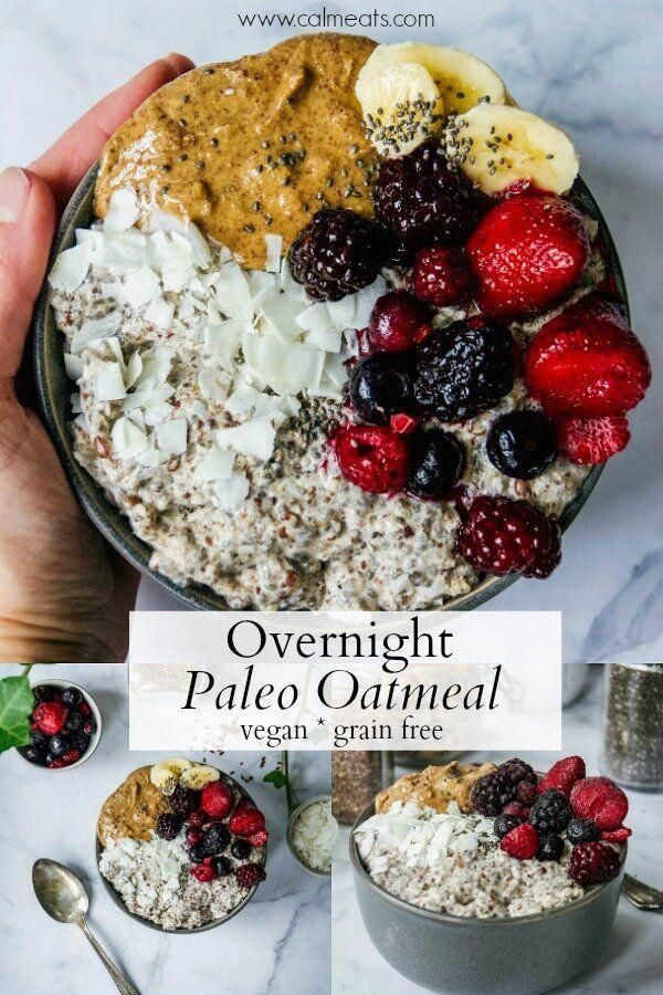 paleo diet and oatmeal