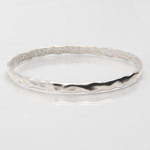 Martina Hamilton, Island Link Collection, Bangle, Sterling Silver Jewellery, Silver Bracelets, Bespoke jewellery, Irish designer jewellery, statement jewellery, fashion jewellery