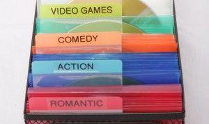 DVD & CD Organization