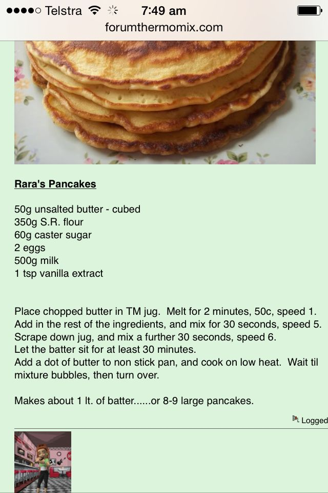 Thermie pancakes