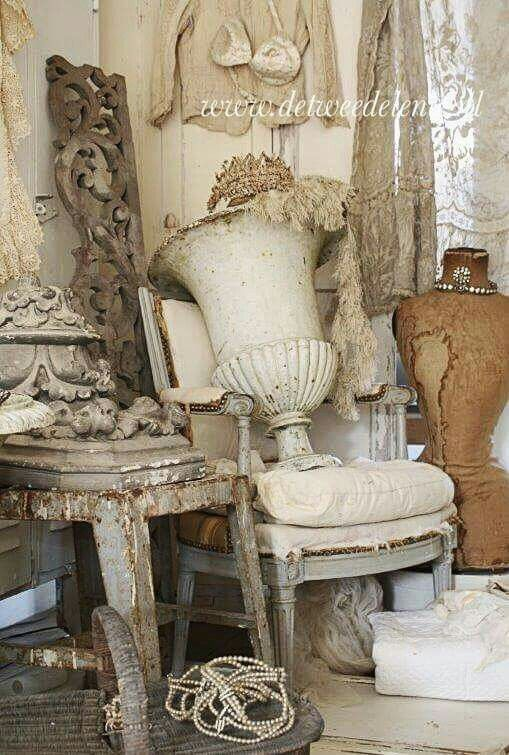 Treasures Inspiration White Shabbychic French Brocante