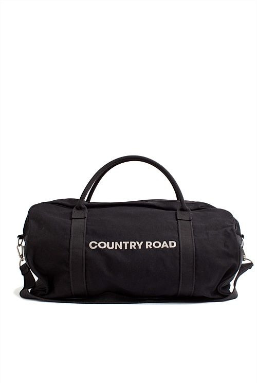 Zip Canvas Logo Tote - I want this Country Road tote so bad :(