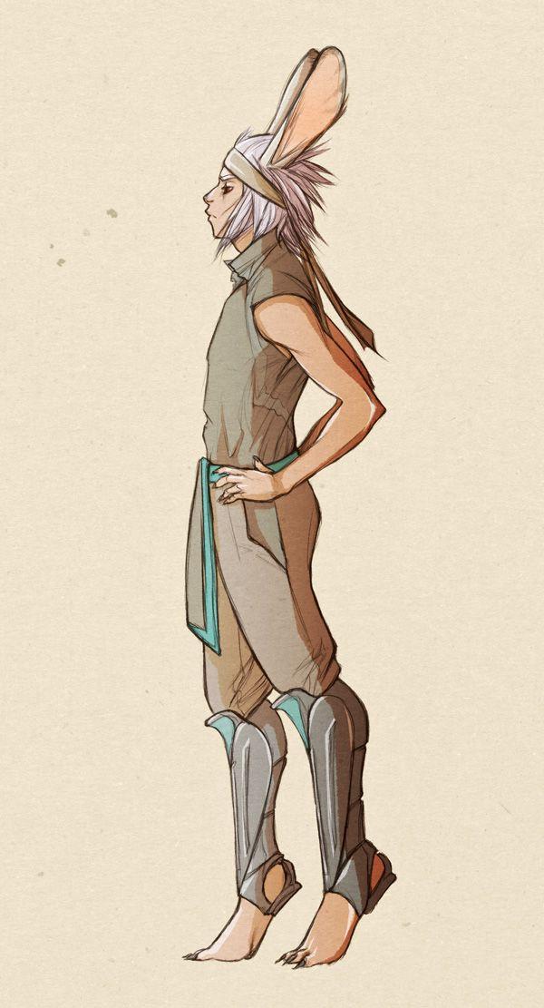 viera male profile by doven on DeviantArt
