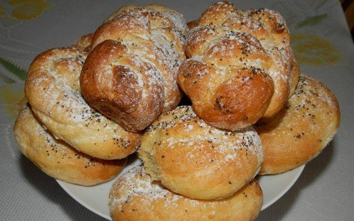 Briošky, připravené z vařených brambor. Vyzkoušejte a zachutnají Vám. Autor: Romča