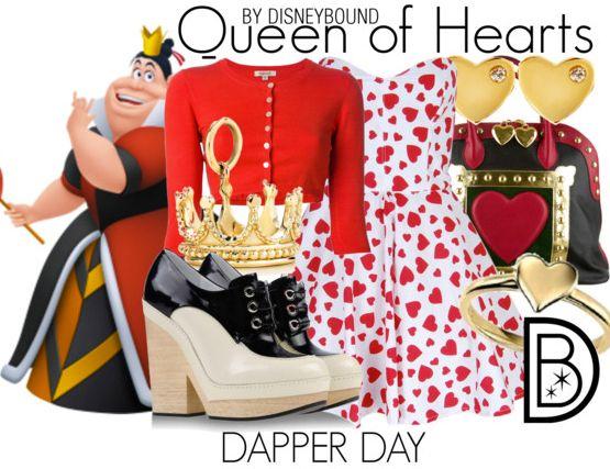 Disney Bound Queen of Hearts BeautyFashion PinterestQueen Of Hearts Disneybound
