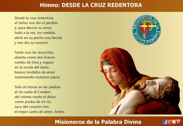 MISIONEROS DE LA PALABRA DIVINA: HIMNO LAUDES -  DESDE LA CRUZ REDENTORA