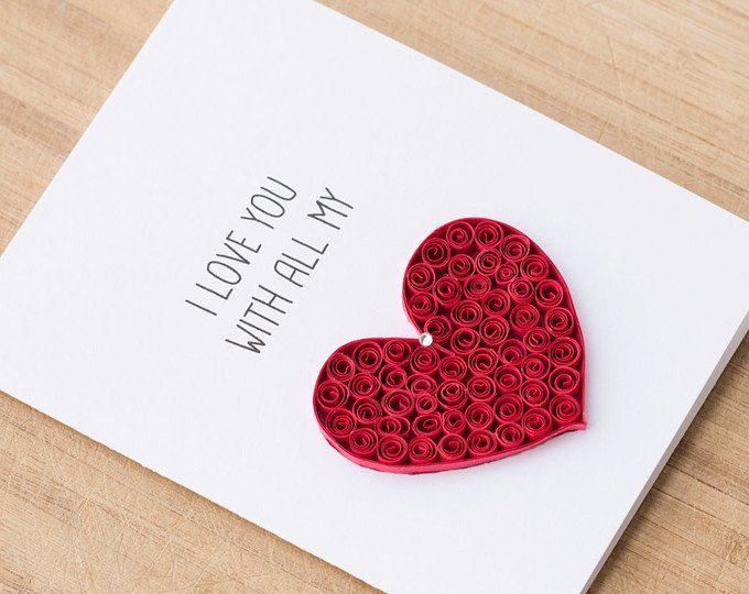 Greeting Card I Call It Magic When I Am With You Heart Etsy