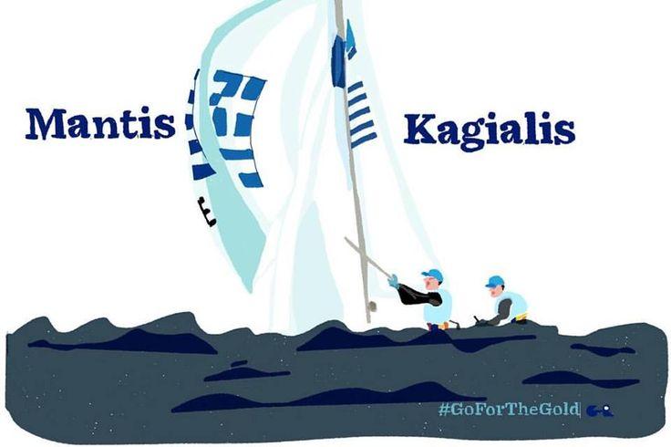 Panagiotis Mantis - Pavlos Kagialis | Sailing 470 Bronze Medalist  #TeamHellas_Rio2016 #OlympicGames2016