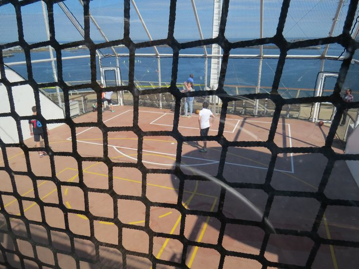 Celebrity Cruises - Aboard Celebrity Eclipse - Football and Basketball court
