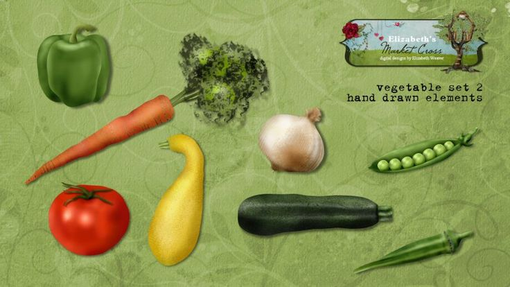 Vegetable Set 2